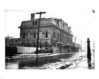 The St. Andrew's Market building on Adelaide Avenue, Toronto, Ontario, Canada. Fine Art Print