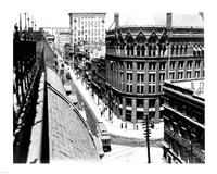 Yonge Street, looking North from Customs House - various sizes