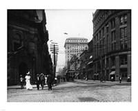 Yonge Street at Front Street in Toronto - various sizes