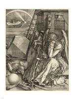 Melencolia I Durer, Albrecht Fine Art Print