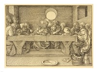The Last Supper Durer Fine Art Print