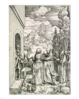 The Visitation by Albrecht Durer - various sizes - $12.99