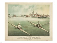 Courtney & Hanlan, Champion Scullers of America - various sizes - $29.99