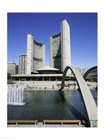 Low angle view of a building on the waterfront, Toronto, Ontario, Canada - various sizes
