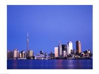 Buildings on the waterfront, Toronto, Ontario, Canada Fine Art Print