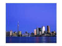 Buildings on the waterfront, CN Tower, Toronto, Ontario, Canada - various sizes