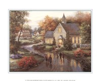 Country Church Fine Art Print