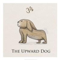 Bunny Yoga,  Upward Dog Pose - various sizes