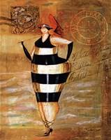 Baigneur de Soleil I Fine Art Print