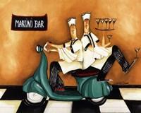 Martini Bar Fine Art Print