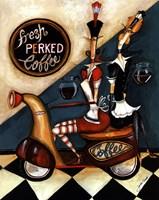 Fresh Perked Coffee Fine Art Print