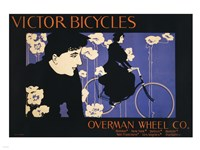 Victor Bicycles Fine Art Print