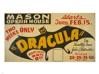 Dracula Fine Art Print