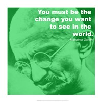 Gandhi Change Quote