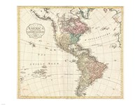 1795 D'Anville Wall Map of South America, 1795 - various sizes