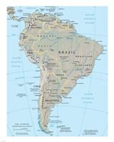 South America Fine Art Print