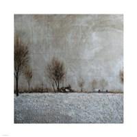 Field Landscape Framed Print