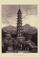 "13"" x 19"" Pagodas"