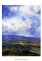 "Mountain View V by H Thomas - 13"" x 19"""
