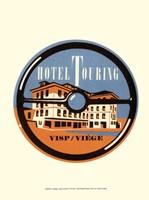 "Vintage Travel Label IV by Vision Studio - 10"" x 13"""