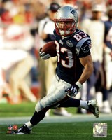 Wes Welker 2011 Running Action Fine Art Print