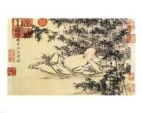 Xuande Bamboo Fine Art Print