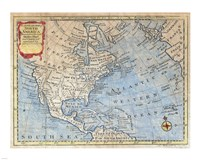 1747 Bowen Map of North America, 1747 - various sizes