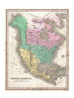 1827 Finley Map of North America, 1827 - various sizes