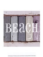 "Beach Signs IV by Beth Anne Creative - 10"" x 13"""