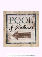 "10"" x 13"" Beach Signs Decor"