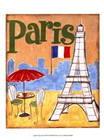 Paris (A) Framed Print