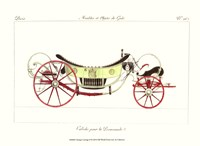 Antique Carriage II Framed Print