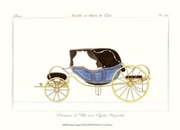 Antique Carriage V Framed Print