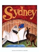Sydney (A) Framed Print