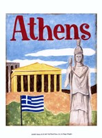 "Athens (A) by Megan Meagher - 10"" x 13"""