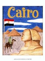 Cairo (A) Framed Print