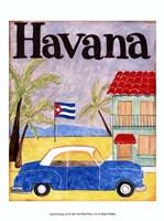 Havana (A) Framed Print