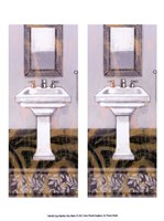 "2up Shabby Chic Bath I by Vision Studio - 10"" x 13"" - $10.49"
