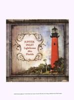 "Florida Lighthouse V by Beth Anne Creative - 10"" x 13"""
