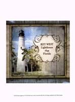 "Florida Lighthouse VI by Beth Anne Creative - 10"" x 13"""