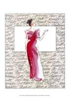 50's Fashion II Fine Art Print