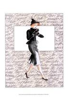 50's Fashion III Fine Art Print