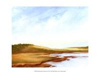 Small Summer Horizons I Framed Print