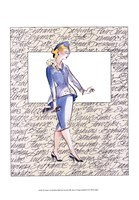 50's Fashion V Fine Art Print