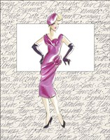 50's Fashion VI Fine Art Print