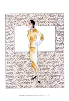 50's Fashion VII Framed Print