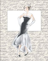 50's Fashion IX Fine Art Print