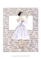 50's Fashion X Fine Art Print