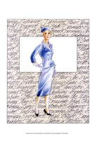 50's Fashion XI Fine Art Print