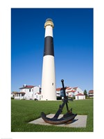 Absecon Lighthouse Museum, Atlantic County, Atlantic City, New Jersey, USA Framed Print
